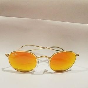 Ray-Ban Orange Flash Sunglasses New W Tags